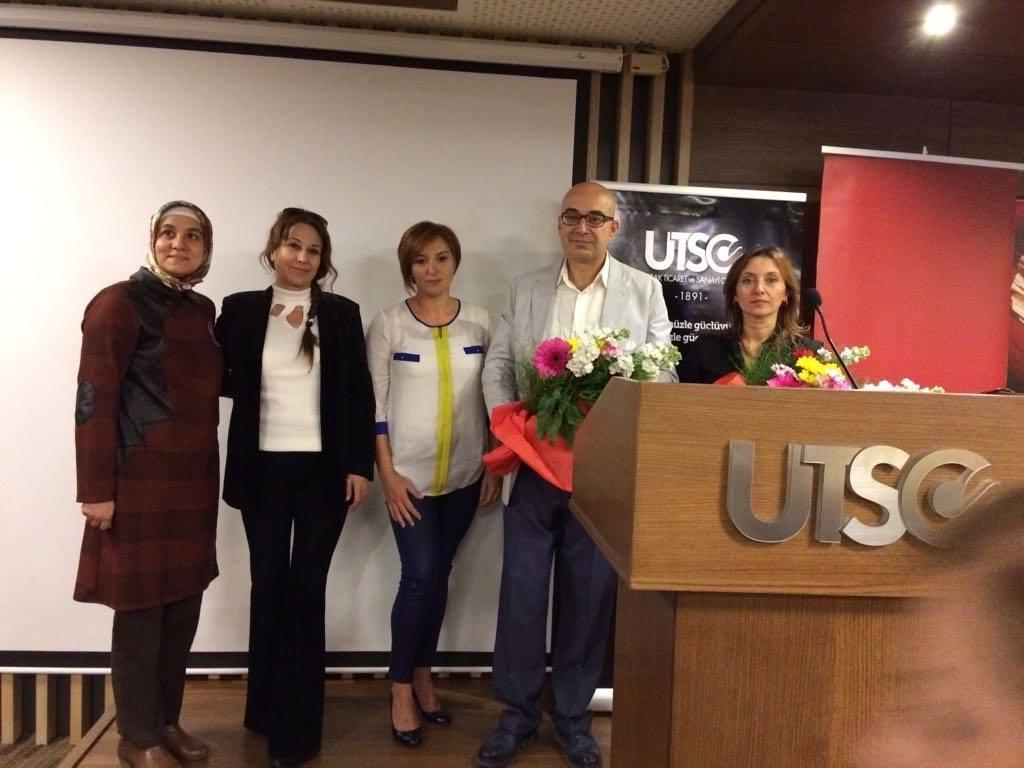 """UTSO'DA    """"KANSERDE FARKINDALIK""""     SEMİNERİ DÜZENLENDİ"""
