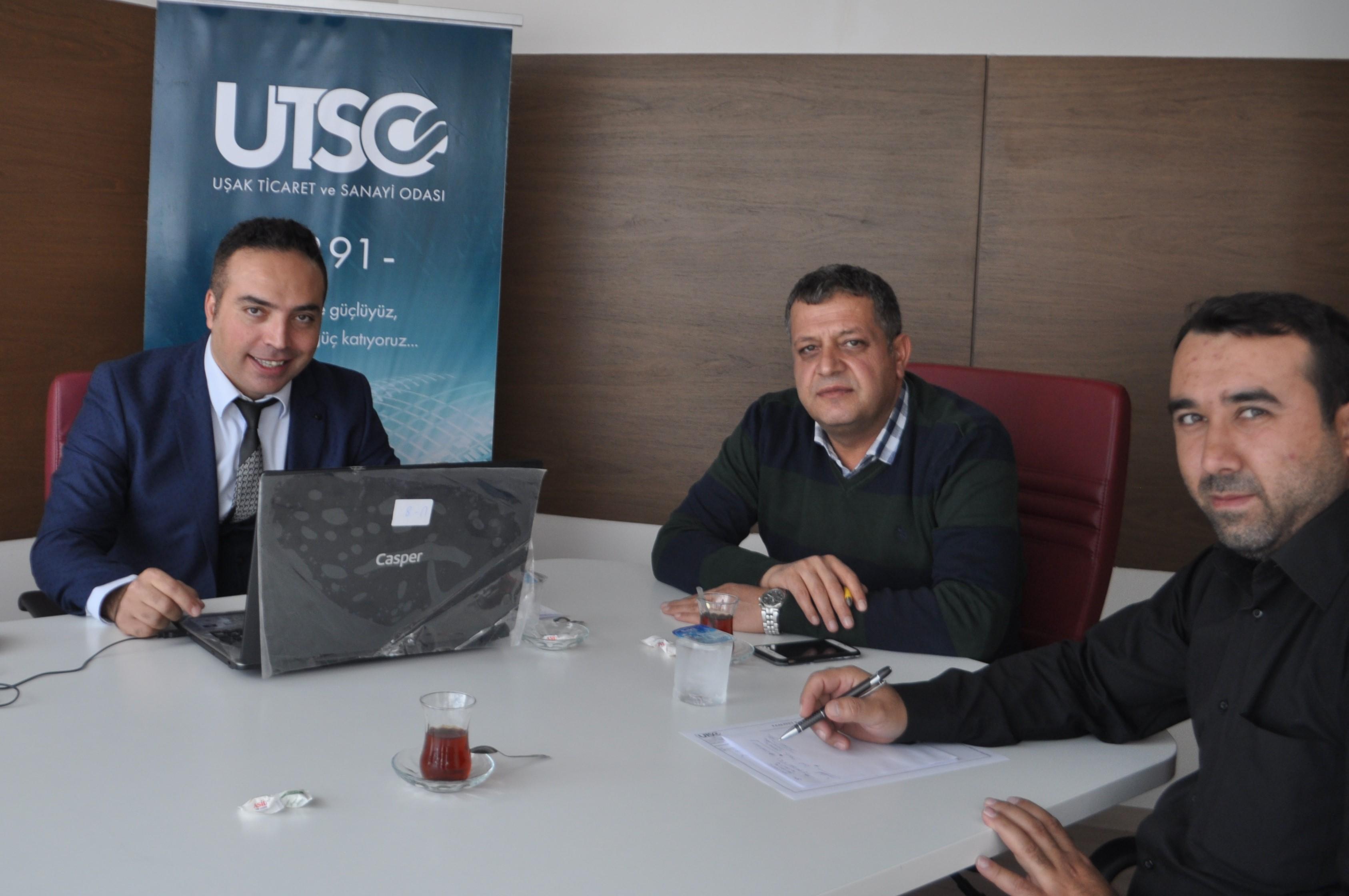 UTSO'DA TR-33 BÖLGESİ DESTEKLERİ DANIŞMA GÜNLERİ GERÇEKLEŞTİ