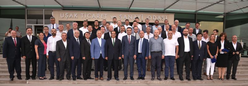 UTSO MECLİS TOPLANTISI VALİ SALİM DEMİR'İN KATILIMIYLA GERÇEKLEŞTİ