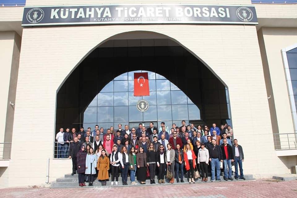 UTSO PERSONELİ ORTAK AKIL TOPLANTISI'NA KATILDI